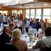 Restaurant crowded full