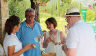 Wine route gastronomy