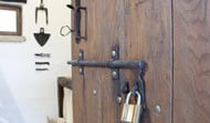Cottage security lock
