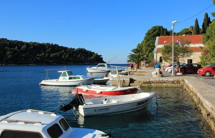 Cavtat boats