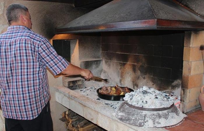 Konavle local cuisine tradtional baking