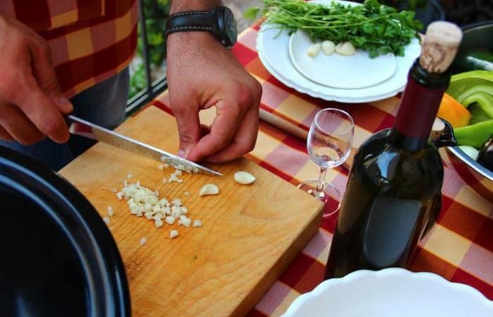 Konavle local cuisine tradtional preperation