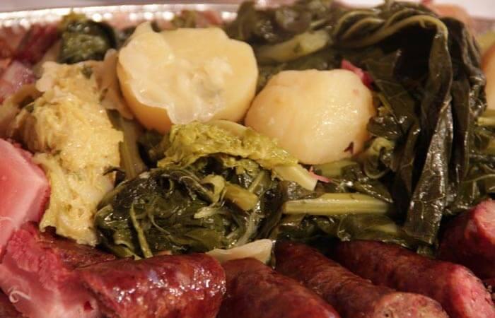 Kameni Dvori Konavle local cuisine zelena menestra