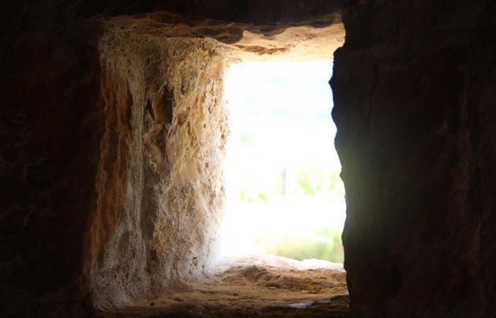Konavle Lovorno historical cave entrance