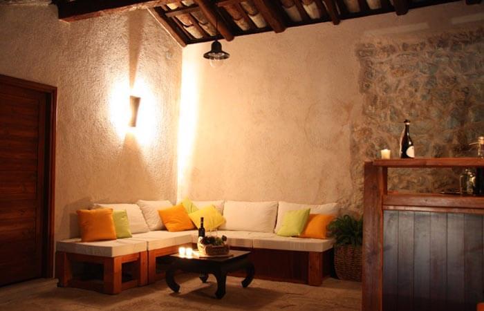 Kameni Dvori Property Outdoor Relaxing corner