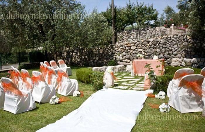 Unique Events-Weddings Outdoor Ceremony
