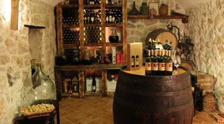 Kameni Dvori Holiday Village wine cellar