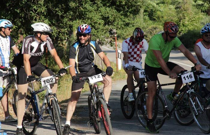 Cycling Konavle heart start