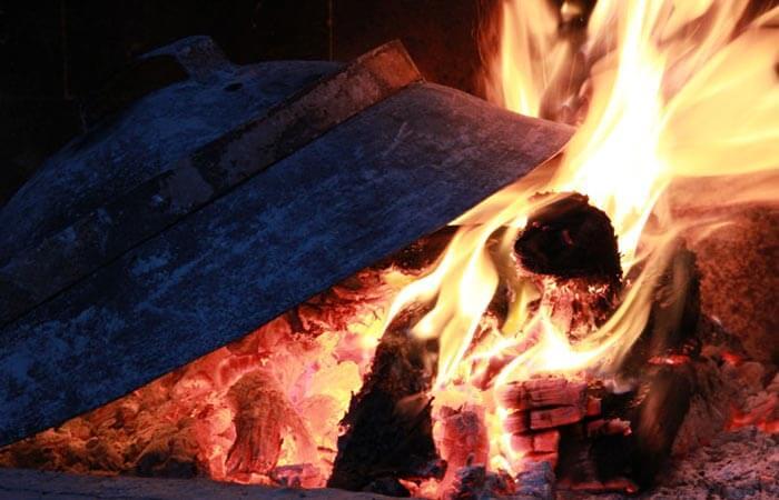 Kameni Dvori Tavern Inn - Roast Fire