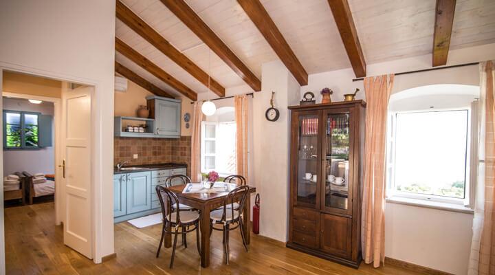 Kameni Dvori Holiday Village Dubrovnik upper livingroom
