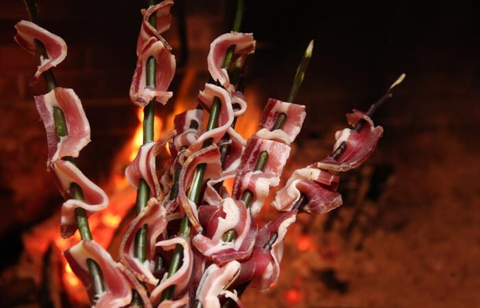 Kameni Dvori Tavern Inn - Grilled Bacon
